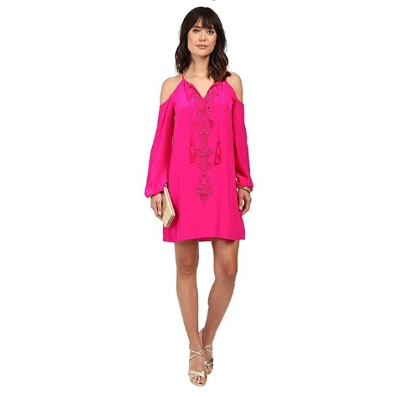 c18b7bd64c0 Lilly Pulitzer Dresses & Skirts - Lilly Pulitzer Fulton Tunic Dress in  magenta